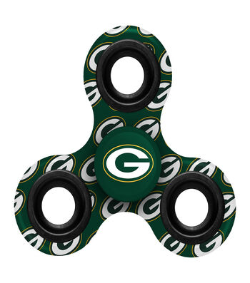Green Bay Packers Diztracto Spinnerz-Three Way Fidget Spinner