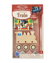 Melissa & Doug Decorate-Your-Own Wooden Kit-Train, , hi-res