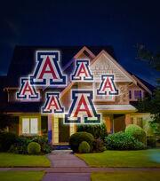 University of Arizona Wildcats Team Pride Light, , hi-res