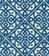Waverly Print Fabric 54\u0022-Lace It Up/Navy