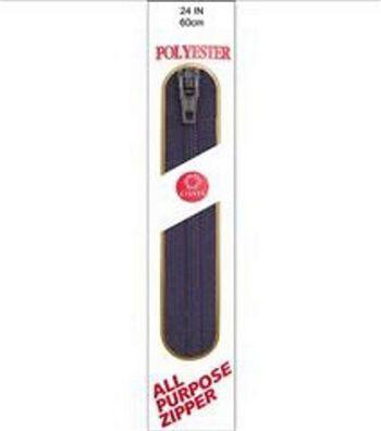 """Coats & Clark All-Purpose Plastic Zipper 24"""""""