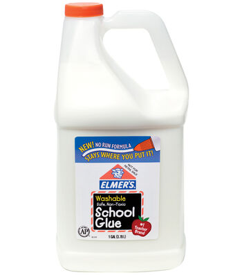 Elmer's Washable White School Glue-1 Gallon