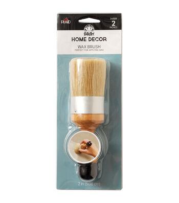 FolkArt Home Decor Wax Brush