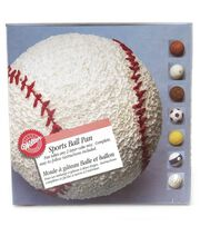 Wilton® Sports Ball 3D Stand Up Cake Pan Set, , hi-res