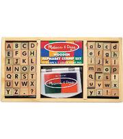 Melissa & Doug Alphabet Stamp Set, , hi-res