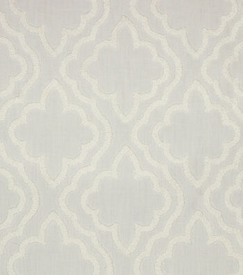 "Hudson 43 Lightweight Decor Fabric 52""-Chaucer White on White"