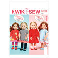 Kwik Sew Crafts Doll Clothes-K3965