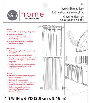 Dritz Home 6yd Iron-On Shirring Tape