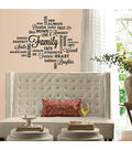 York Wallcoverings Peel & Stick Wall Decals-Family Quote