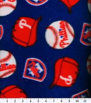 "Philadelphia Phillies Fleece Fabric 58""-Tossed, , hi-res"