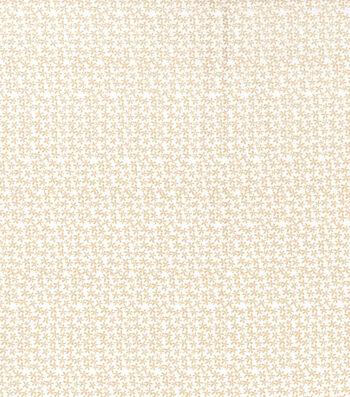 "Keepsake Calico™ Cotton Fabric 43""-Whitecap Gray Ditsy Floral"