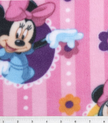 "Disney® Minnie Mouse Fleece Fabric 60""-Character"