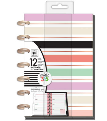The Happy Planner 12 Month Mini Planner-Lovely Pastels