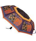 Laurel Burch Compact Umbrella-Feline Family Portrait