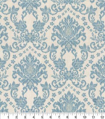 Home Essentials™ Print Fabric 45''-Mist Tailored Romance