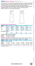 Kwik Sew Misses Dress-K3778