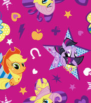 Hasbro™ My Little Pony™ Cotton Fabric 43''-Cutie Toss, , hi-res