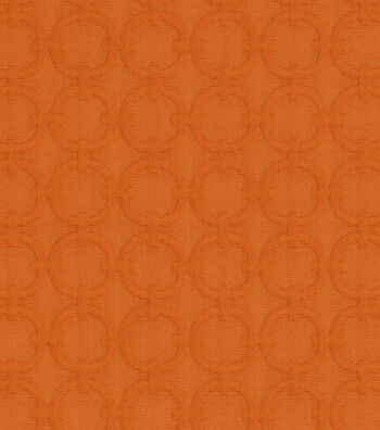 """Waverly Upholstery Fabric 57""""-Full Circle /Tiger Lily"""