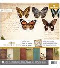 Paper House® Field Study Pack of 48 12\u0027\u0027x12\u0027\u0027 Paper Pad