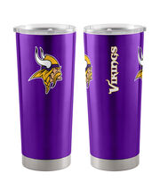 Minnesota Vikings 20 oz Insulated Stainless Steel Tumbler, , hi-res