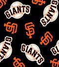 San Francisco Giants Fleece Fabric 58\u0027\u0027-Tossed