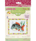 RIOLIS Counted Cross Stitch Kit 6.25\u0022X5\u0022-Smiling Fish