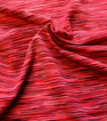 Performance Fabric-Space Dye Knit Pink
