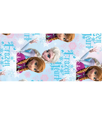 """Licensed Duck Tape 1.88""""X10yd-Frozen - Elsa&Anna"""