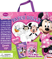 Disney® Minnie Mouse Bow-tique Dress Up Paper Dolls, , hi-res