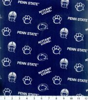 "Penn State University Nittany Lions Cotton Fabric 43""-All Over, , hi-res"