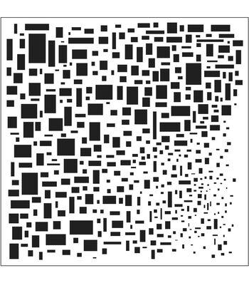 "Crafter's Workshop Templates 6""X6""-Mini Cubist"