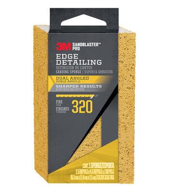 3M Sandblaster Pro 320 Grit Edge Detailing Sanding Sponge