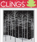 Hero Arts Cling Stamps Winter Trees