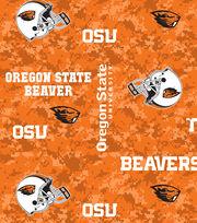"Oregon State University Beavers Fleece Fabric 43""-Digital, , hi-res"