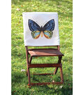 Square By Design®-Butterfly 25\u0022 Woven Square