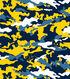 University of Michigan Wolverines Cotton Fabric 44\u0022-Camo