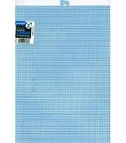 """Plastic Canvas 7 Count 10""""X13""""-Light Blue, , hi-res"""