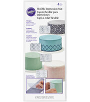 Wilton® Flexible Impression Mats 4 Pack, , hi-res