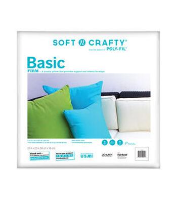 """Soft N Crafty Basic 22"""" x 22"""" Pillow"""