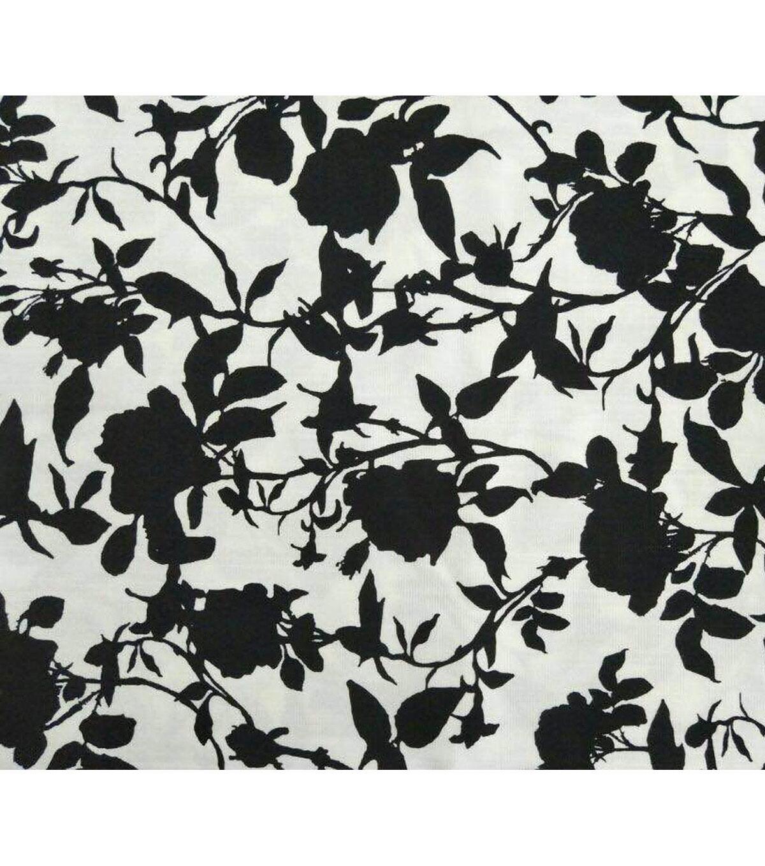amaretto linen fabric flowers on white