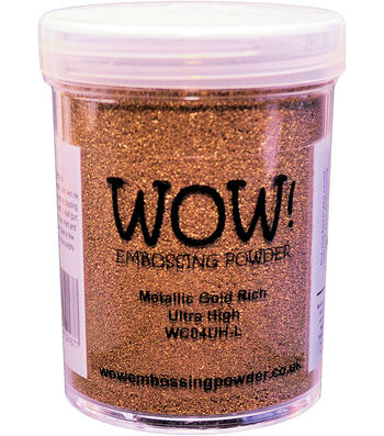 WOW! Embossing Powder Large Jar 160ml-Silver Ultra High