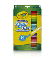 Crayola Super Tips Washable Markers-50/Pkg, , hi-res