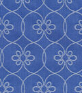 Williamsburg Solid Fabric-Turkish Screen/Porcelain