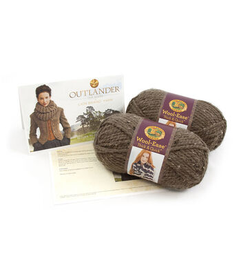 Outlander Garment Knit Kit-Return to Inverness Cowl