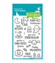 "Lawn Fawn Clear Stamps 4""X6""-Spooktacular, , hi-res"