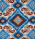 Boho Style Crepe Fabric 57\u0022-Tribal Diamonds