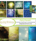 Reminisce Collection Kit 12\u0022X12\u0022-Fairy Forest w/Hollow Tree