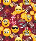Iowa State University Cyclones Cotton Fabric 43\u0027\u0027-Emoji