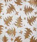 Sew Sweet Organza Fabric 58\u0022-Tree Green Glitter