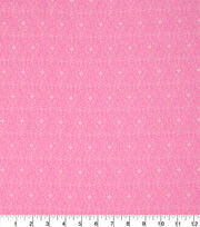 "Keepsake Calico™ Cotton Fabric 43""-Rose In Bloom Scroll On Pink, , hi-res"